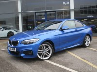 BMW 2 SERIES 2.0 218D M SPORT 2DR AUTOMATIC