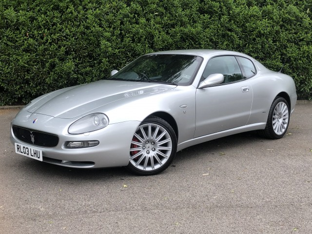 2003 (03) MASERATI 4200 GT Coupe 4.2 V8 GT MANUAL  | <em>33,500 miles