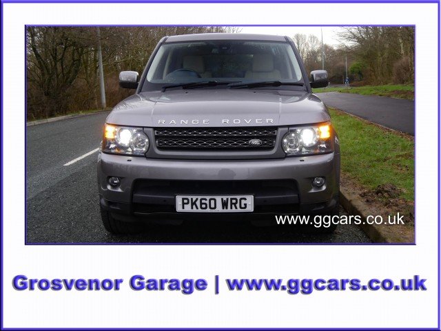 2010 (60) LAND ROVER RANGE ROVER SPORT 3.0 TDV6 HSE 5DR AUTOMATIC