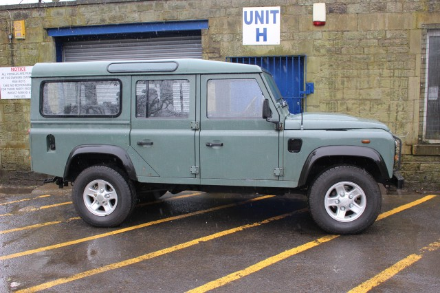 Used LAND ROVER DEFENDER 2.4 110 TDCI STATION WAGON 5DR in Lancashire