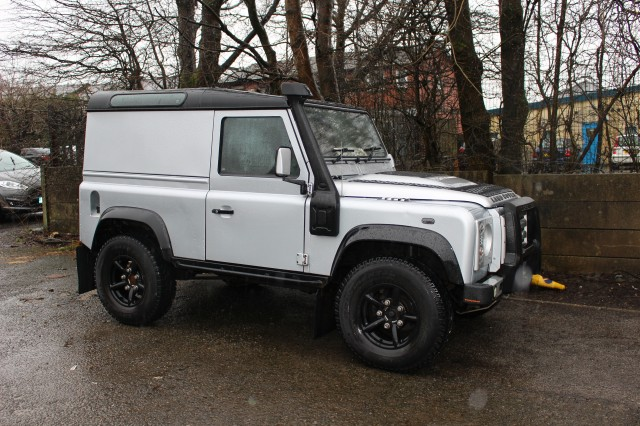 Used LAND ROVER DEFENDER 2.5 90 County Hard Top TD5 in Lancashire
