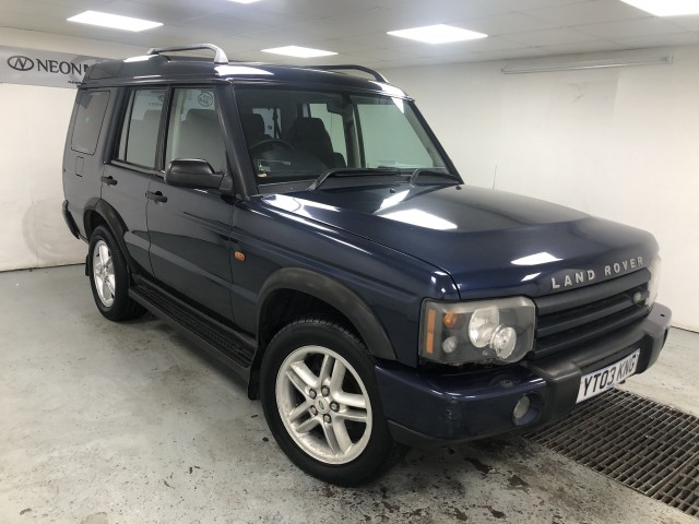 Used LAND ROVER DISCOVERY 2.5 TD5 XS 5DR in West Yorkshire