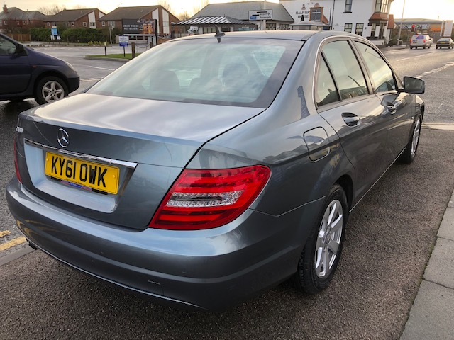 MERCEDES-BENZ C-CLASS 1.8 C180 BLUEEFFICIENCY SE EDITION 125 4DR AUTOMATIC