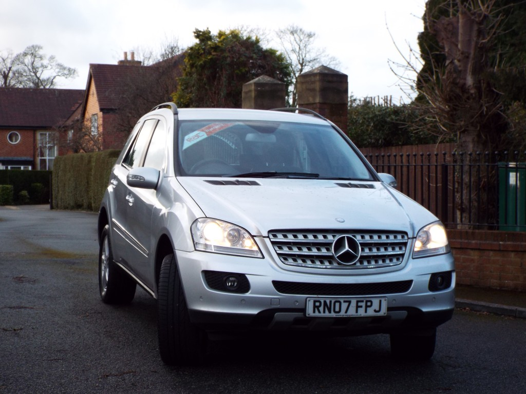 MERCEDES-BENZ M CLASS 3.0 ML280 CDI EDITION S 5DR AUTOMATIC