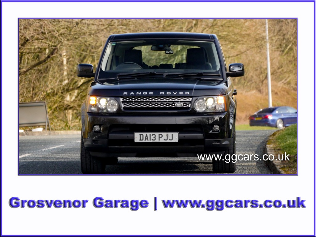 LAND ROVER RANGE ROVER SPORT 3.0 SDV6 HSE BLACK 5DR AUTOMATIC