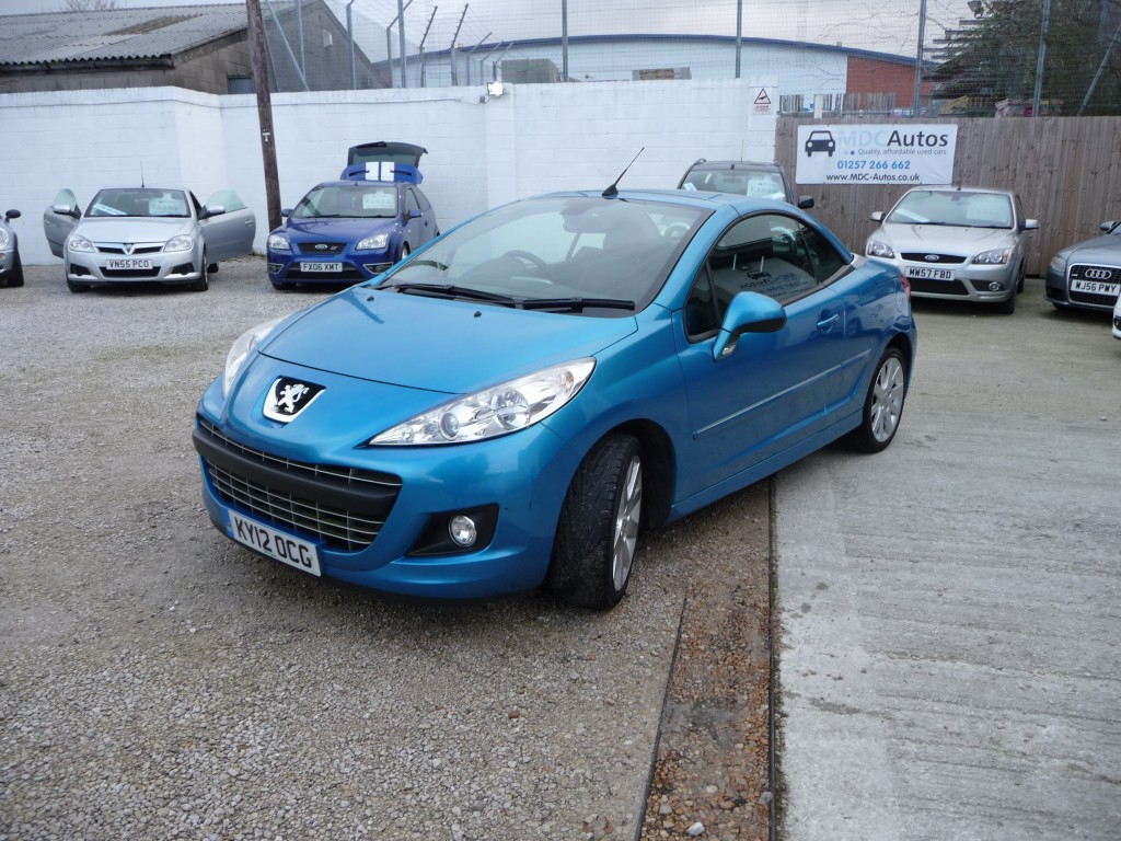 PEUGEOT 207 1.6 HDI CC GT 2DR