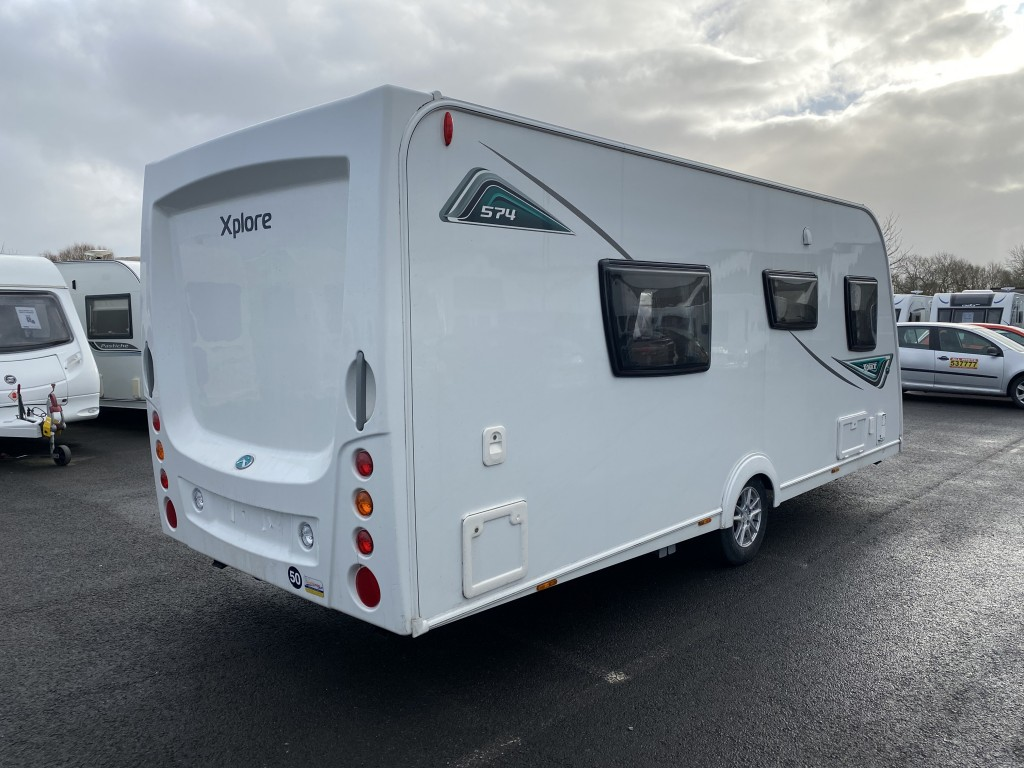 ELDDIS Xplore 574 Fixed Single Beds