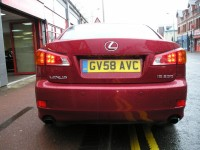 LEXUS IS 2.5 250 SE-L 4DR AUTOMATIC
