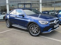 MERCEDES-BENZ GLC-CLASS 2.0 GLC 300 D 4MATIC AMG LINE PREMIUM PLUS 4DR AUTOMATIC