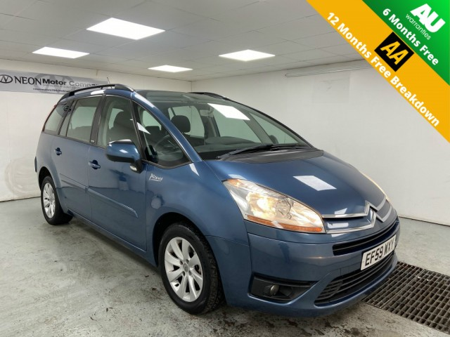 Used CITROEN C4 GRAND PICASSO 1.6 VTR PLUS HDI EGS 5DR SEMI AUTOMATIC in West Yorkshire