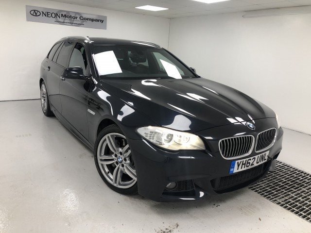 Used BMW 5 SERIES 3.0 530D M SPORT TOURING 5DR AUTOMATIC in West Yorkshire