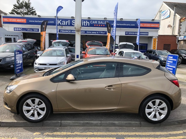 VAUXHALL ASTRA GTC 1.4 GTC SPORT 3DR AUTOMATIC