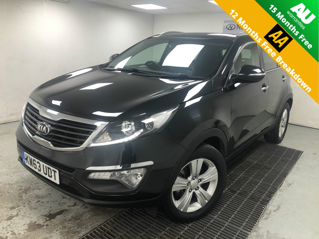 Used KIA SPORTAGE 1.7 CRDI 2 5DR in West Yorkshire
