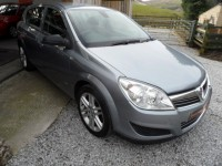 VAUXHALL ASTRA ACTIVE 1.4 16V  ACTIVE 5 DOOR HATCHBACK LOW MILEAGE 47K S/H 2 OWNERS AC ALLOYS METALLIC SILVER 2010 AA APP
