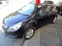 VAUXHALL CORSA 1.2 16V SXI 3 DOOR HATCH ONLY 1 PRE OWNER FROM NEW METALLIC BLACK 1 YEAR AA COVER FULL MOT