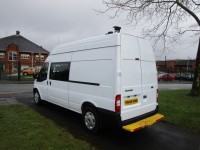 FORD TRANSIT WELFARE MESS VAN 2.4 T350 LWB - 5 SEATS - FSH
