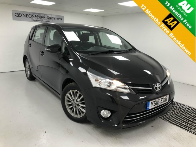 Used TOYOTA VERSO 1.6 D-4D ICON 5DR in West Yorkshire