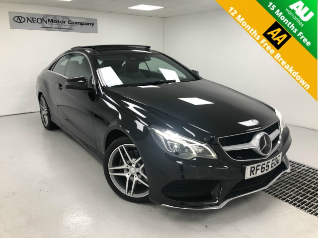 Used MERCEDES-BENZ E CLASS 3.0 E350 BLUETEC AMG LINE 2DR AUTOMATIC in West Yorkshire
