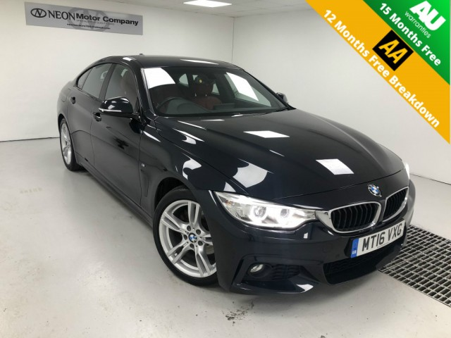 Used BMW 4 SERIES 2.0 420D M SPORT GRAN COUPE 4DR AUTOMATIC in West Yorkshire