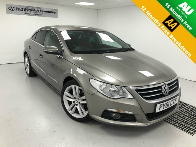 Used VOLKSWAGEN PASSAT CC 2.0 CC GT TDI BLUEMOTION TECHNOLOGY DSG 4DR SEMI AUTOMATIC in West Yorkshire