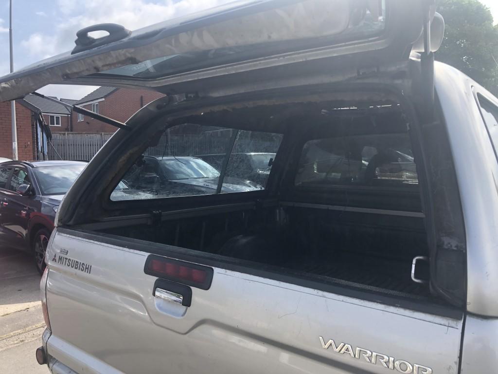 MITSUBISHI L200 2.5 TD 4WD LWB WARRIOR DCB
