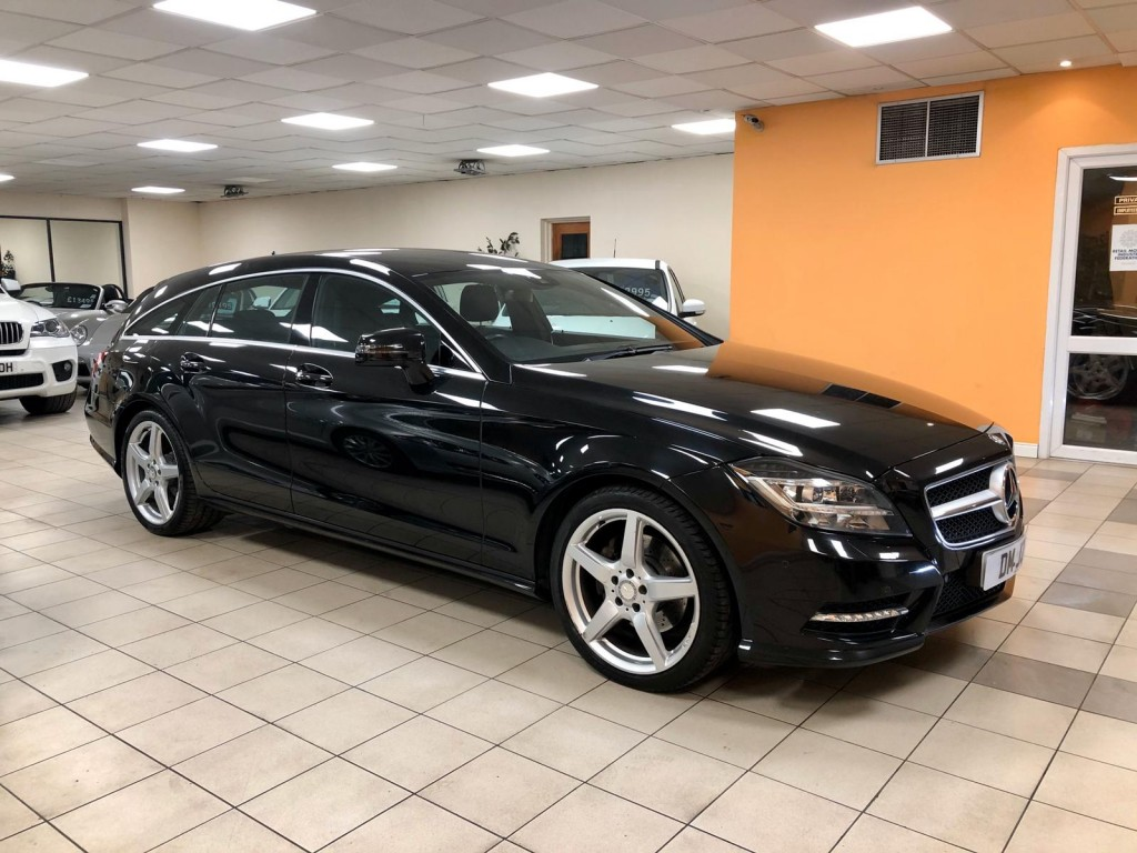 MERCEDES-BENZ CLS 2.1 CLS250 CDI BLUEEFFICIENCY AMG SPORT 5DR AUTOMATIC