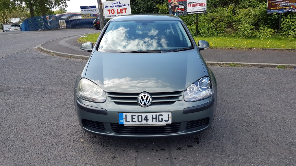 VOLKSWAGEN GOLF 1.6 SE 5DR AUTOMATIC