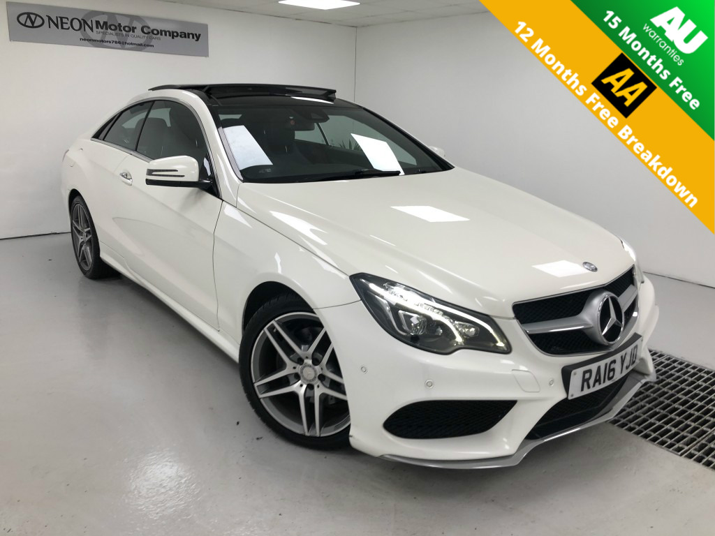 Used MERCEDES-BENZ E CLASS 3.0 E350 BLUETEC AMG LINE PREMIUM 2DR AUTOMATIC in West Yorkshire