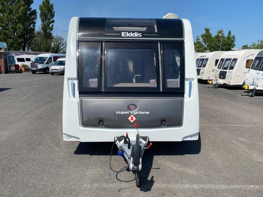 ELDDIS Crusader Supercyclone MASSIVE SPEC - Fixed single beds