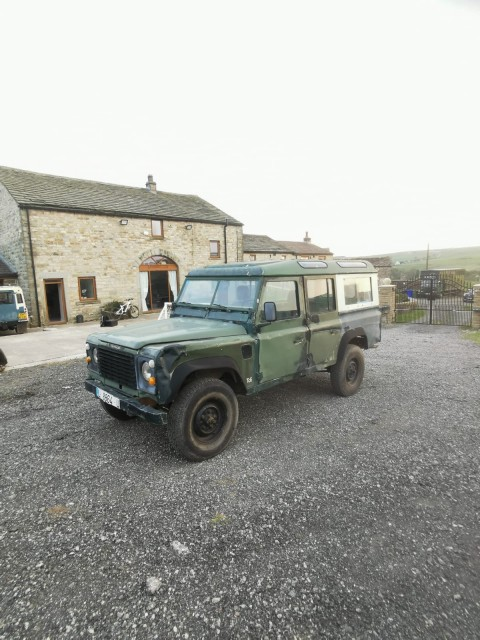 Used LAND ROVER DEFENDER 2.4 110 COUNTY STATION WAGON 5DR in Lancashire