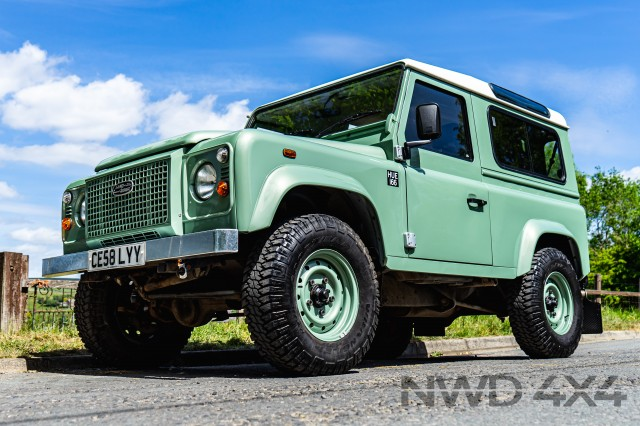 Used LAND ROVER DEFENDER 2.4 90 HERITAGE SPEC in Lancashire