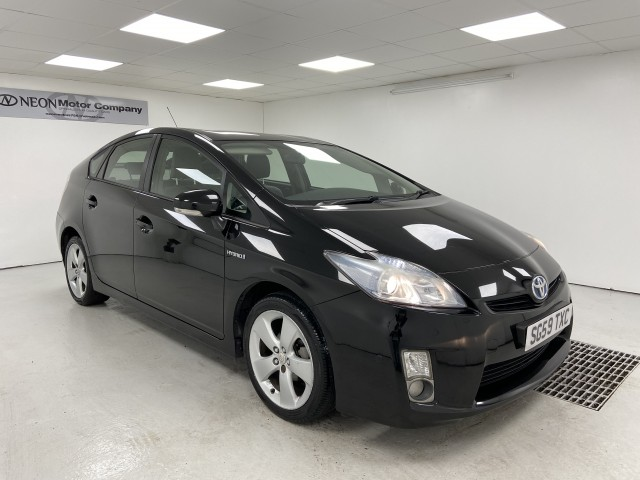 Used TOYOTA PRIUS 1.8 T SPIRIT VVT-I 5DR CVT in West Yorkshire