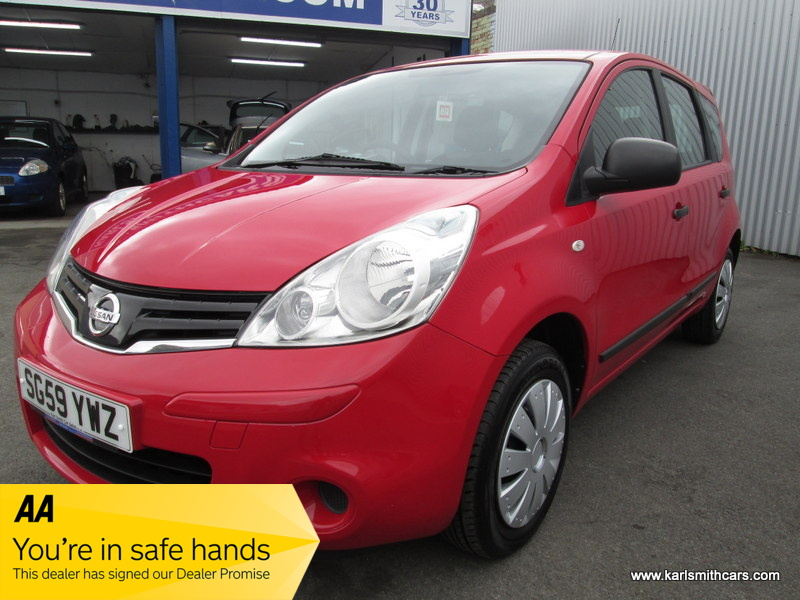 NISSAN NOTE 1.4 VISIA 5DR