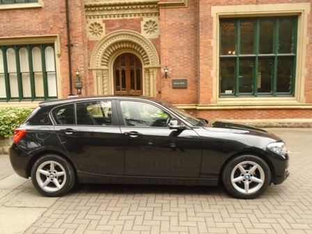 BMW 1 SERIES 1.5 116D SE 5DR AUTOMATIC