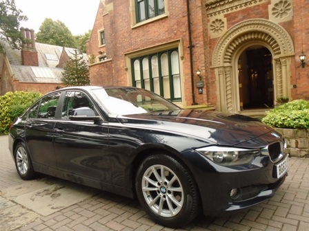 BMW 3 SERIES 2.0 320D EFFICIENTDYNAMICS BUSINESS 4DR AUTOMATIC