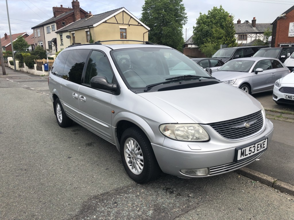 CHRYSLER GRAND VOYAGER 3.3 LIMITED XS 5DR AUTOMATIC
