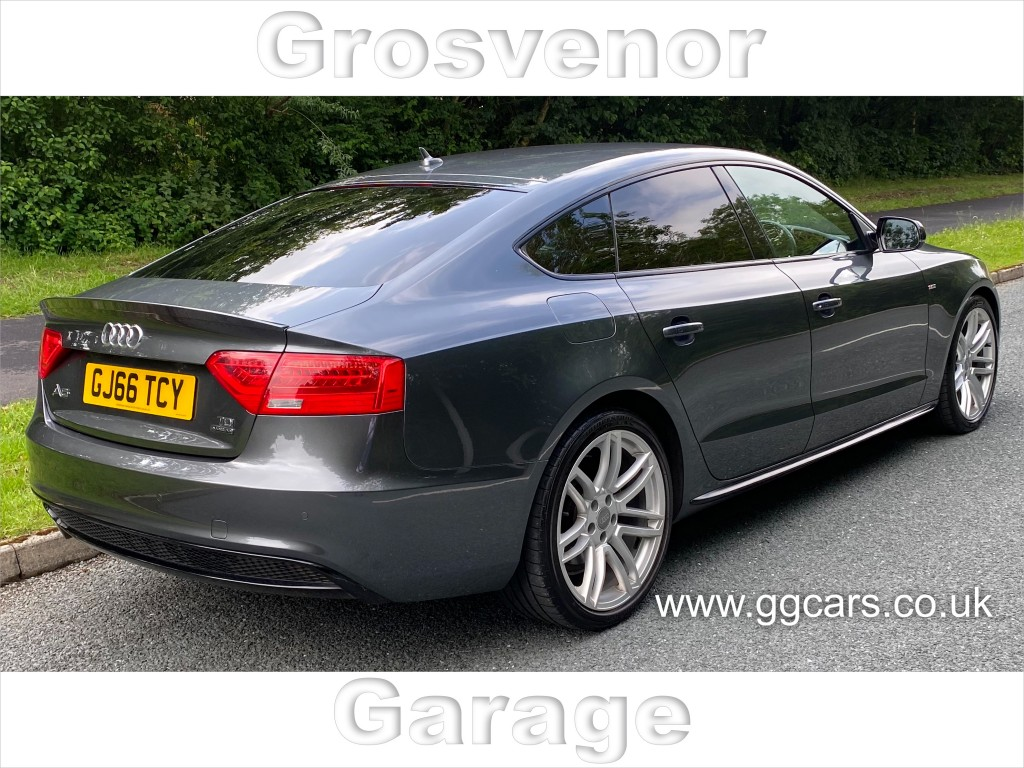 AUDI A5 2.0 TDI QUATTRO BLACK EDITION PLUS 5DR SEMI AUTOMATIC