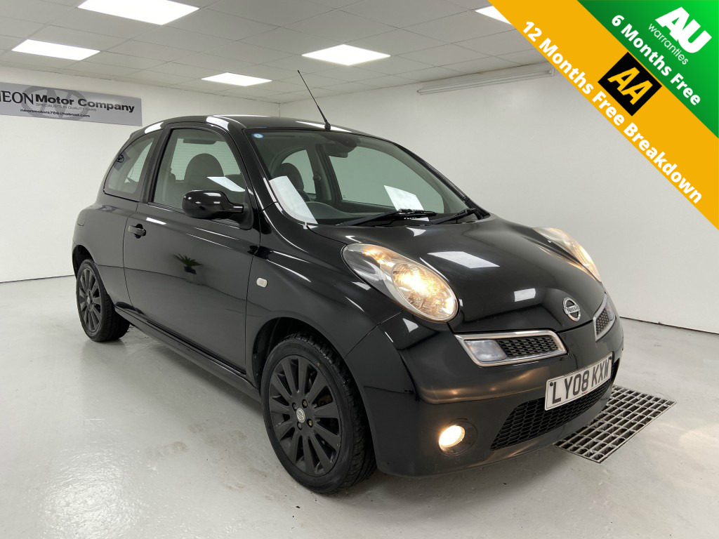 NISSAN MICRA 1.4 ACTIVE LUXURY 3DR