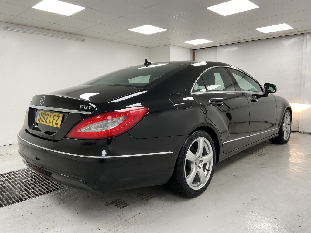 MERCEDES-BENZ CLS 3.0 CLS350 CDI BLUEEFFICIENCY 4DR AUTOMATIC