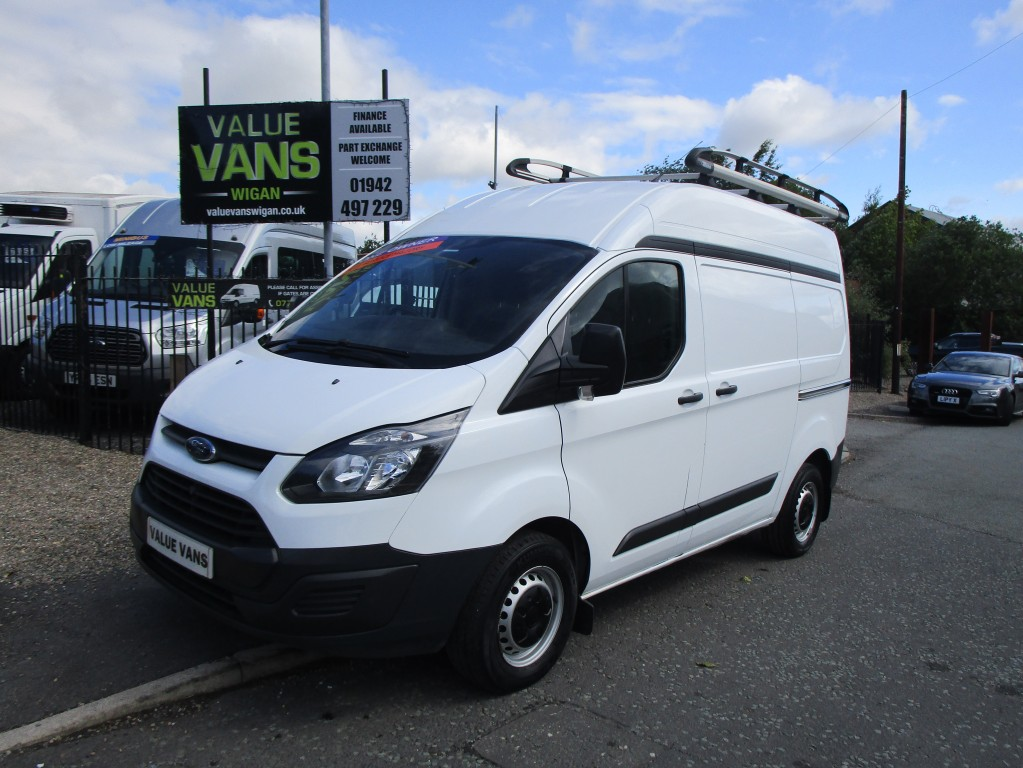 Ford Transit Custom L1 H2 Swb 290 Only 62 000 Miles One Owner Fsh For Sale In Wigan Value Vans Wigan