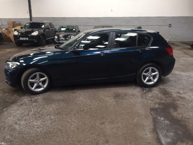 BMW 1 SERIES 1.5 116D ED PLUS 5DR