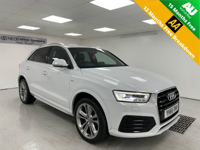 Used AUDI Q3 2.0 TDI QUATTRO S LINE PLUS 5DR in West Yorkshire
