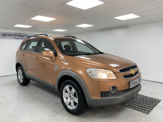 Used CHEVROLET CAPTIVA 2.0 LT VCDI 5DR in West Yorkshire