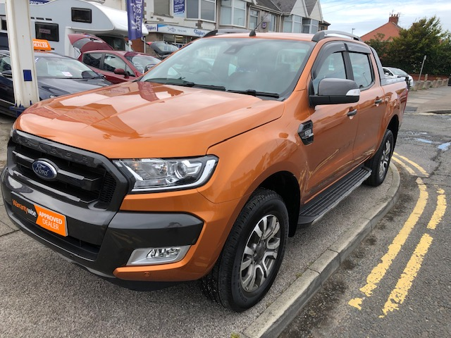 FORD RANGER 3.2 WILDTRAK 4X4 DCB TDCI 4DR AUTOMATIC
