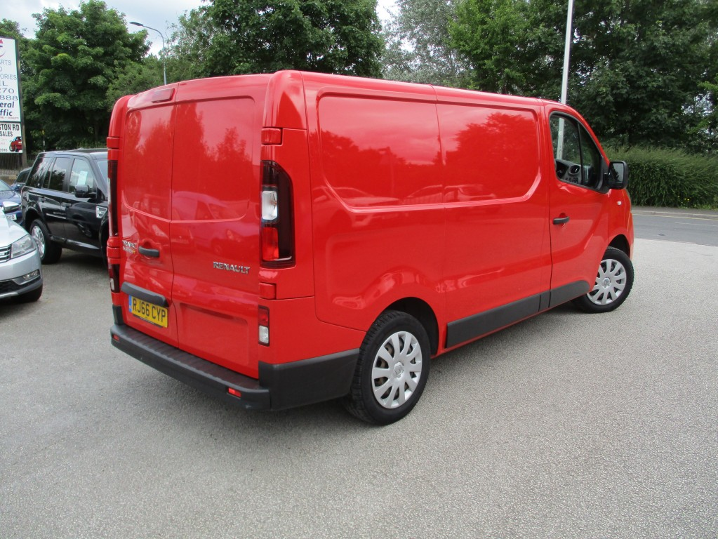 RENAULT TRAFIC 1.6 SL27 BUSINESS PLUS DCI
