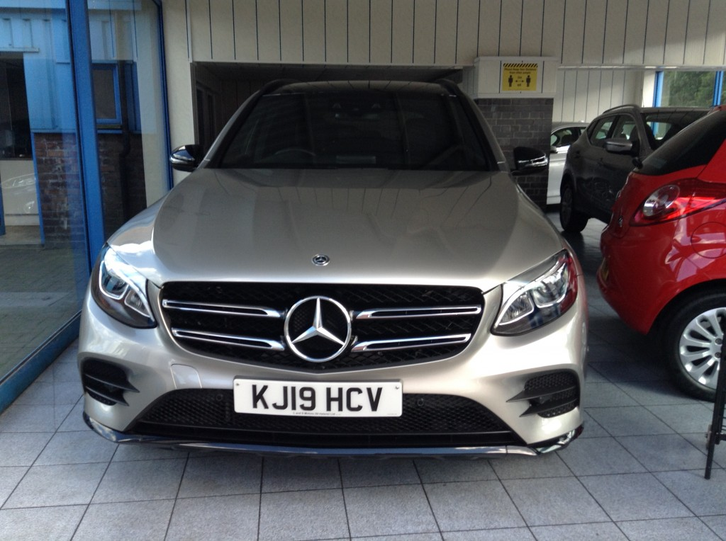 MERCEDES-BENZ GLC 2.1 GLC 250 D 4MATIC AMG NIGHT EDITION 5DR AUTOMATIC
