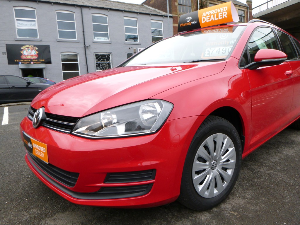 VOLKSWAGEN GOLF 1.6 S TDI BLUEMOTION TECHNOLOGY 5DR