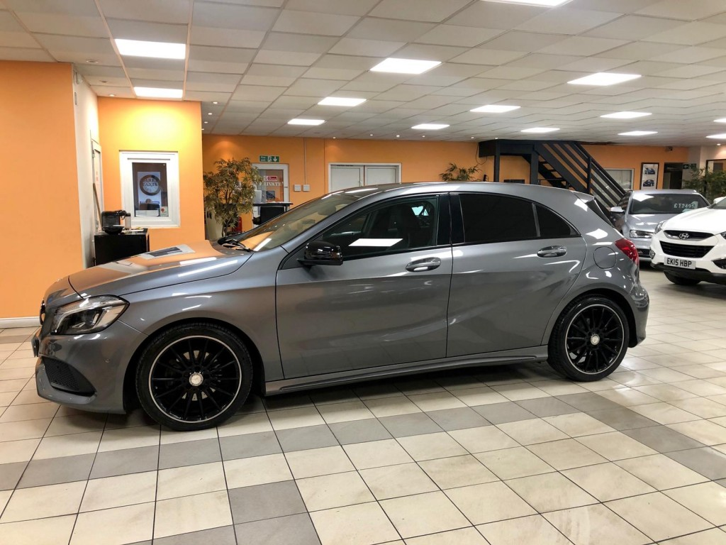 MERCEDES-BENZ A CLASS 2.1 A 200 D AMG LINE PREMIUM PLUS 5DR SEMI AUTOMATIC