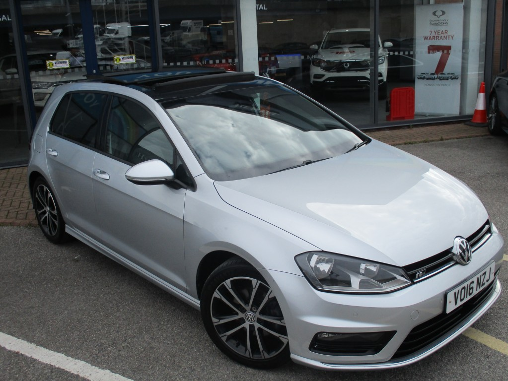 VOLKSWAGEN GOLF 2.0 R-LINE TDI BLUEMOTION TECHNOLOGY DSG 5DR AUTOMATIC