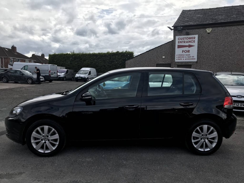 VOLKSWAGEN GOLF 1.6 MATCH TDI DSG 5DR SEMI AUTOMATIC